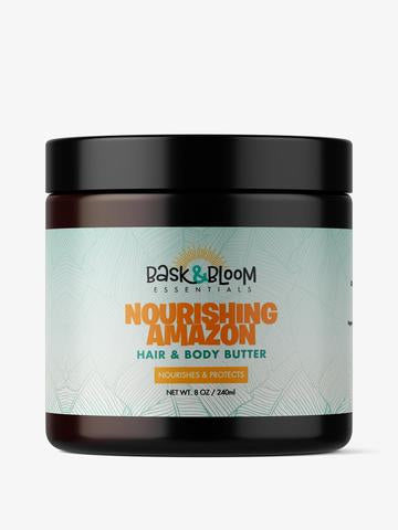 Bask & Bloom Nourishing Amazon Hair & Body Butter