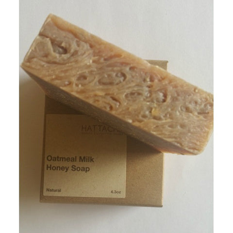 Hattache Natural Soap - Oatmeal Milk + Honey