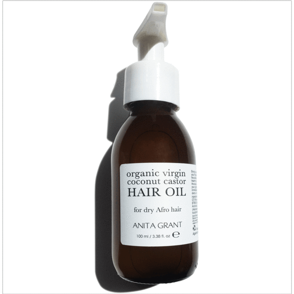 Anita Grant Organic Virgin Coconut Castor Oil