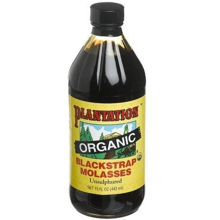 Plantation ORGANIC Black Strap Molasses (Unsulphured)
