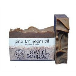 A Wild Soap Bar - Pine Tar Neem Oil Soap