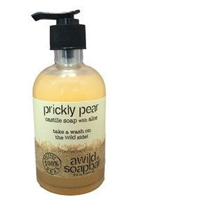 A Wild Soap Bar - Prickly Pear Liquid Castile Soap