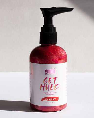 Gemini Naturals - Get Hued Cranberry Color Gel