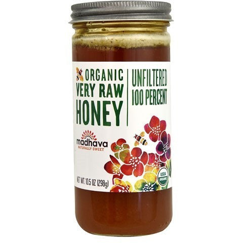 Madhava Organic Honey Raw Unfiltered