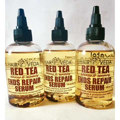 Hairveda Red Tea Ends Repair Serum