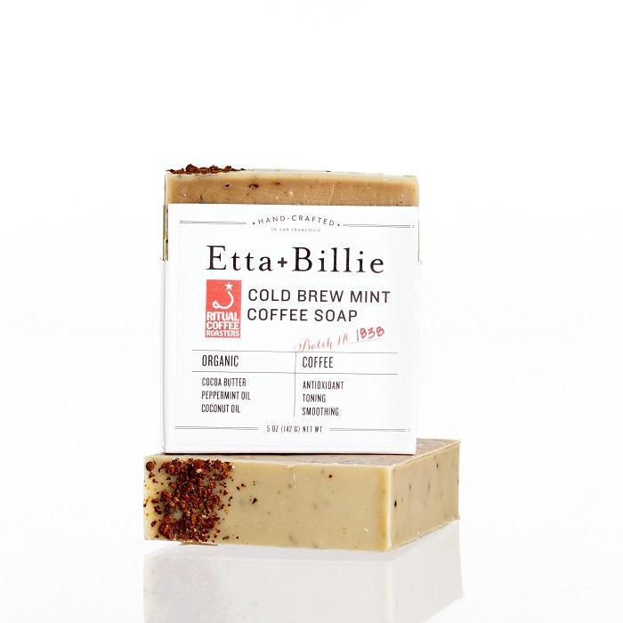 Etta + Billie Ritual Roasters Cold Brew Mint Coffee Soap