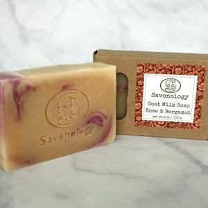 Savonology - Rose & Bergamot Soap