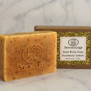 Savonology - Rosemary Lemon Soap