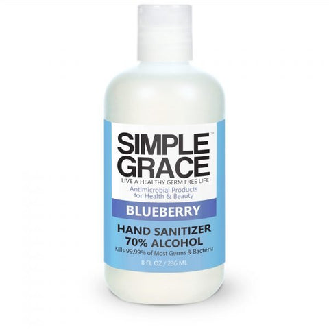 Simple Grace - Blueberry Hand Sanitizer 70% Alchohol