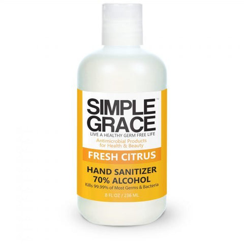 Simple Grace - Fresh Citrus Hand Sanitizer 70% Alchohol
