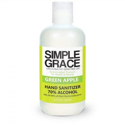 Simple Grace - Green Apple Hand Sanitizer 70% Alchohol