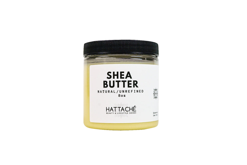 Hattache Natural Butter for Hair + Skin - Shea Butter (Unrefined)