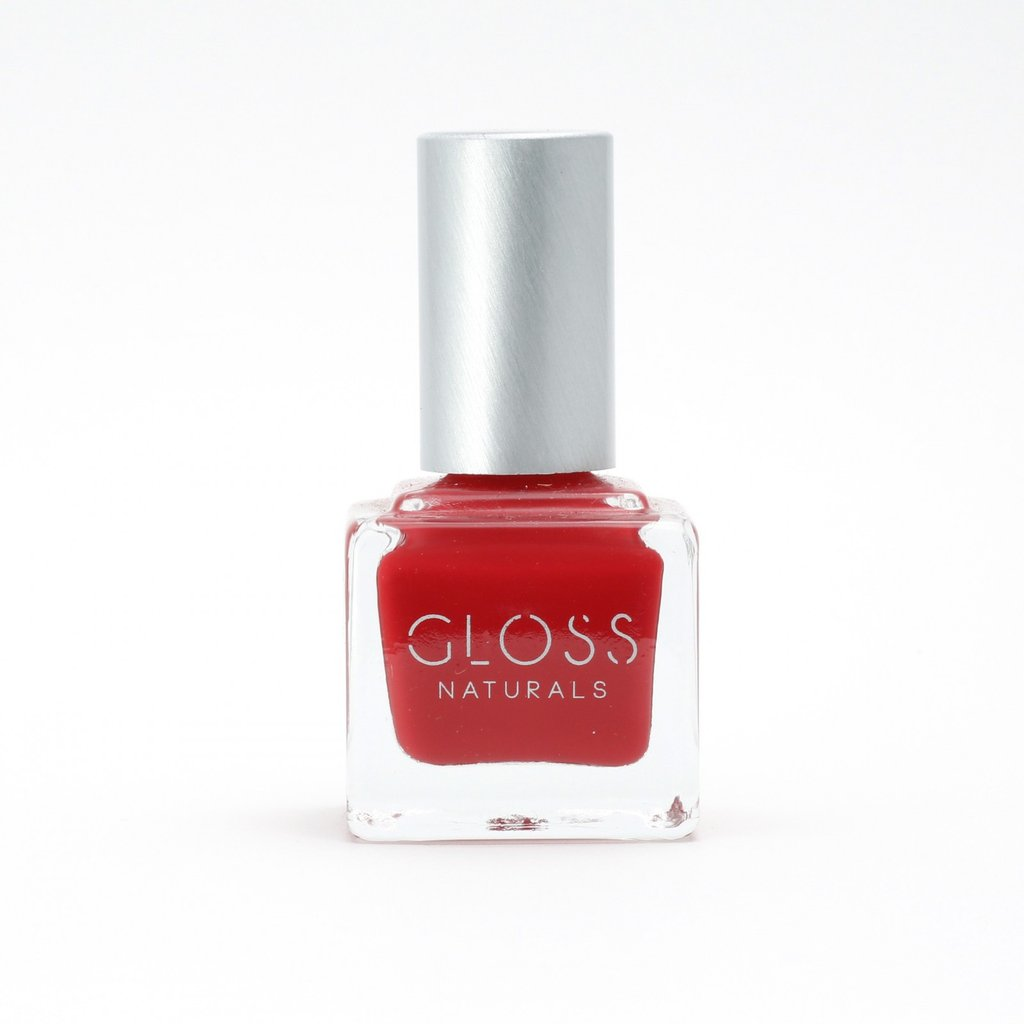 Gloss Naturals Nail Polish - Silvan Red