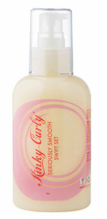 Kinky Curly Seriously Smooth Swift Set Lotion