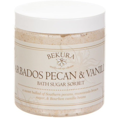 Bekura Beauty Barbados Pecan & Vanilla Bath Sugar Sorbet