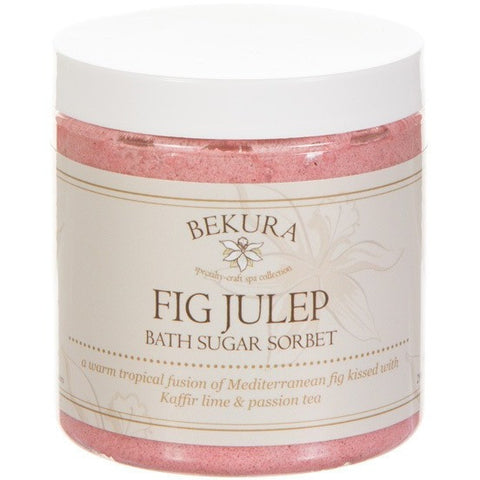Bekura Beauty Fig Julep Bath Sugar Sorbet