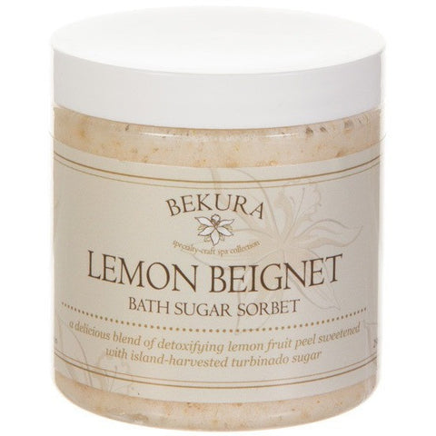 Bekura Beauty Lemon Beignet Bath Sugar Sorbet