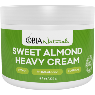 Obia Natural Sweet Almond Heavy Cream