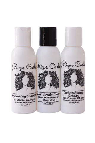 Rizos Curls - Trio Travel Kit