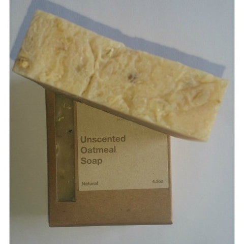 Natural Soap - Unscented Oatmeal