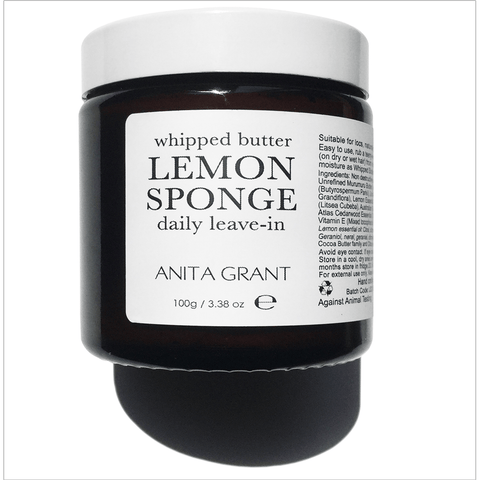 Anita Grant Whipped Butter Leave-In Conditioner  - Lemon Sponge