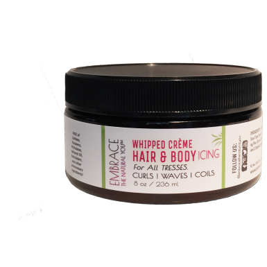 Embrace The Natural You - Whipped Creme Hair & Body Icing