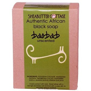 Sheabutter Cottage African Black Soap BAOBAB