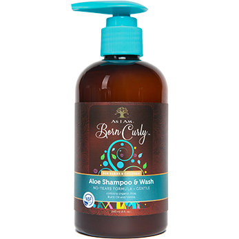 As I Am Naturally - Born Curly Aloe Shampoo & Wash