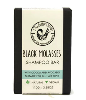 Sheabutter Cottage - Black Molasses Shampoo Bar