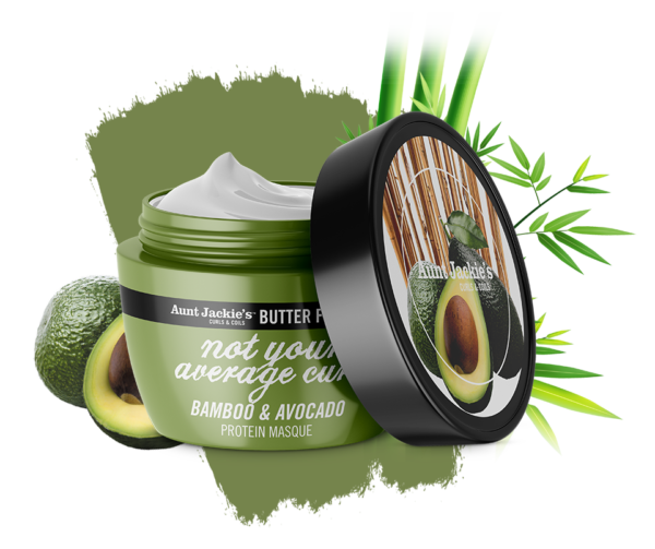Aunt Jackie's Butter Fusion - Bamboo & Avocado Protein Masque