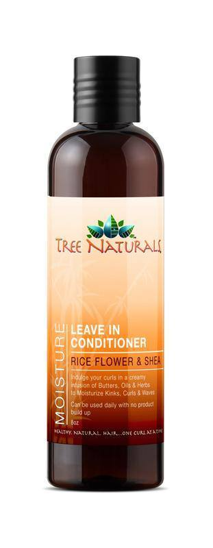 Tree Naturals - Rice Flower & Shea Leave In Conditioner