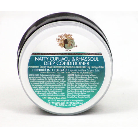 Natty Naturals - Cupuacu & Rhassoul Deep Conditioner