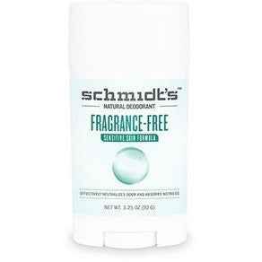 Schmidt's Deodorant - Fragrance Free (Sensitive Skin)