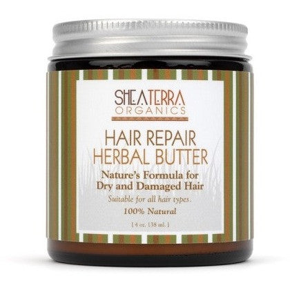 SheaTerra Organics - Hair Repair Herbal Butter