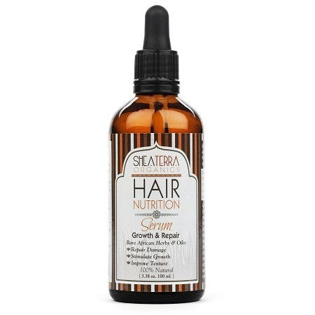 SheaTerra Organics - Hair Nutrition Serum (Growth & Repair)