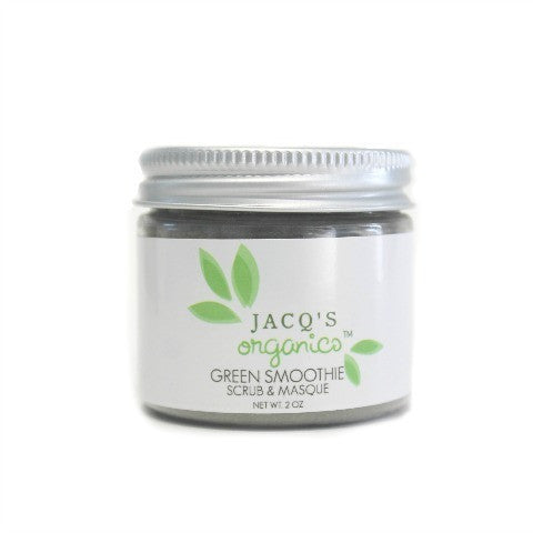 Jacqs Organics Green Smoothie Scrub & Masque