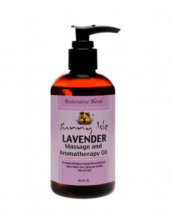 Sunny Isle - Jamaican Black Castor Oil Lavender Massage Oil