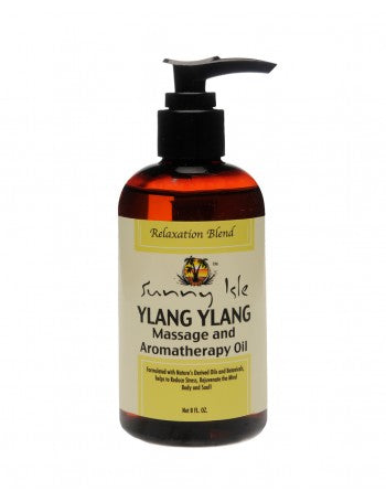 Sunny Isle - Jamaican Black Castor Oil Ylang Ylang Massage Oil