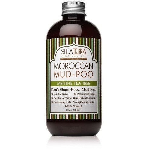 SheaTerra Organics - Moroccan Mud-Poo (Menthe Tea Tree)