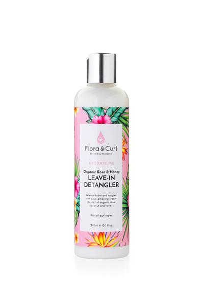 Flora & Curl - Organic Rose & Honey Leave-in Detangler