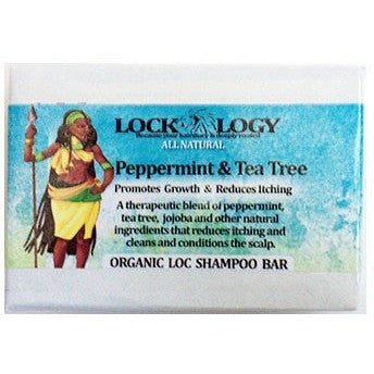 Lockology Tea Tree Peppermint Organic Shampoo Bar