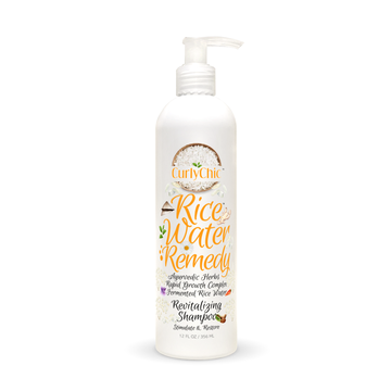Curly Chic Rice Water Remedy - Revitalizing Shampoo