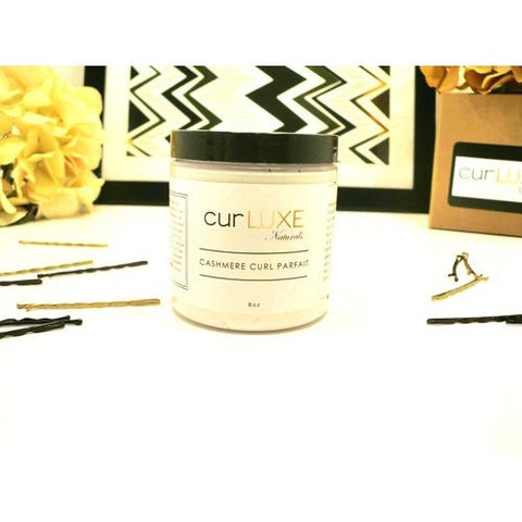 CurLUXE Naturals - Cashmere Curl Parfait with Shea butter & Honey