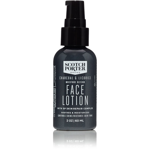 Scotch Porter Charcoal & Licorice Moisture Defend Face Lotion