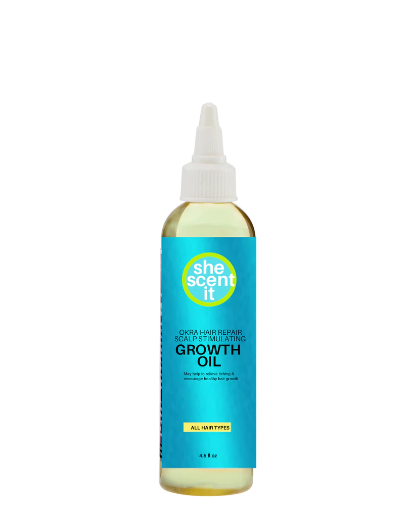 She Scent It - Okra Hair Repair Scalp Stimulating Growth Oil