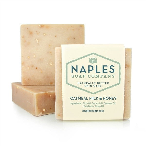 Naples Soap Company Oatmeal Milk & Honey Olive Oil Soap