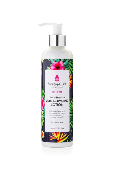 Flora & Curl - Sweet Hibiscus Curl Activating Lotion