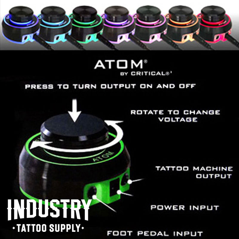 Atom (SILVER) - Critical Tattoo Supply