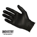 Bastion - Nitrile Black Medical Grade Gloves (Box of 100)