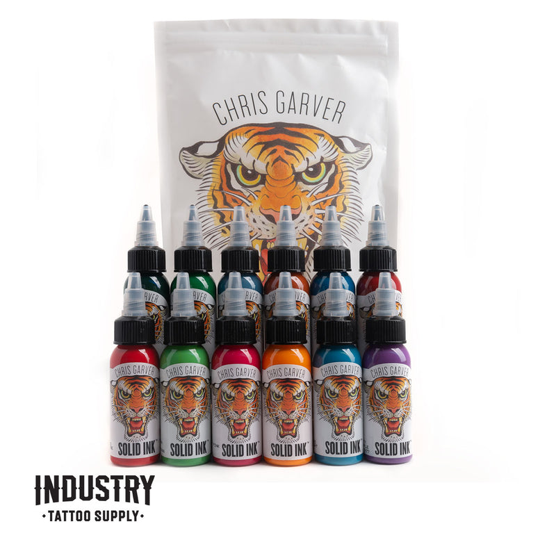 Solid Ink: Chris Garver 1oz set (12 colours)